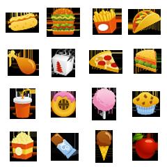 Emoticons de Comida